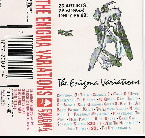 The Enigma Variations - Casette